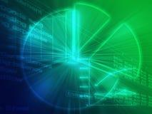 Kalkulationstabellengeschäftsdiagrammabbildung Lizenzfreie Stockfotografie