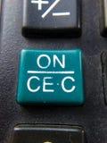 Kalkulatorów klucze Obraz Royalty Free