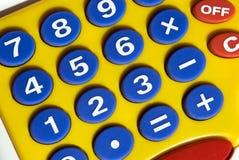 kalkulator śmieszny Zdjęcie Stock