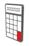 kalkulator royalty ilustracja