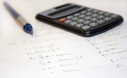 kalkulator obrazy royalty free