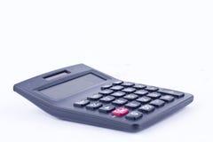 Kalkulator dla kalkulować liczby rozlicza księgowość finansowy biznesowy obliczenie na białym tło finanse obraz stock