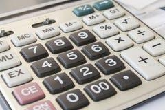 Kalkulator dla pracy Obraz Stock