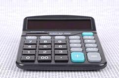 Kalkulator i binarny kod Zdjęcia Stock