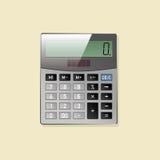 Kalkulator ikona Obrazy Stock