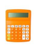 kalkulator kąta pojedynczy biały szeroki Fotografia Stock