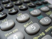 kalkulator kieszeń Zdjęcia Royalty Free