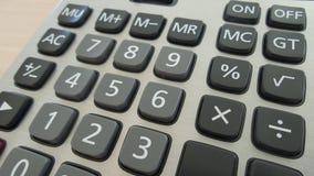 Kalkulator klawiatura Fotografia Royalty Free