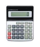 Kalkulator Na Odgórnym widoku Obraz Royalty Free