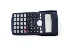 Kalkulator na tle Obraz Stock