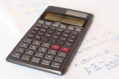 kalkulator naukowy Fotografia Royalty Free