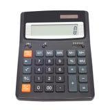 Kalkulator odizolowywający Obrazy Stock