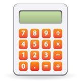 Kalkulator odizolowywający Zdjęcie Royalty Free