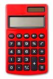 kalkulator odizolowywający Zdjęcia Royalty Free