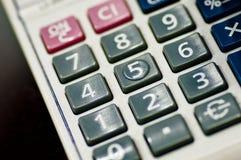 kalkulator opuszczać Zdjęcie Royalty Free