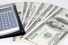 kalkulator pieniądze fotografia royalty free
