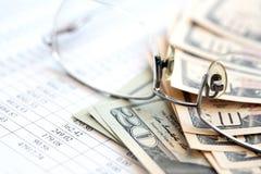 kalkulator pojęcia zysku dolara znaków Zdjęcie Stock