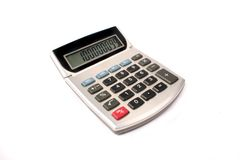 kalkulator stary Obrazy Royalty Free