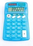 kalkulatora słoneczny elektroniczny niedrogi zasilany zdjęcia stock
