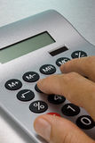 kalkulatora używać Obrazy Stock