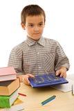kalkulatora uczeń Zdjęcie Royalty Free