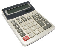 kalkulatora zbliżenie Fotografia Royalty Free
