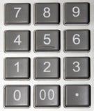 kalkulatora zbliżenie Zdjęcia Stock