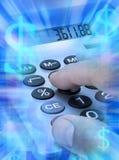 kalkulatorski kalkulator Zdjęcia Stock