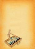 kalkulatorski zysku Zdjęcie Stock