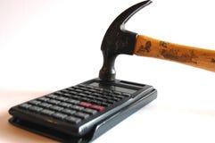 kalkulatorów problemy Zdjęcie Stock