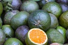 Kalkzitrusfrüchte Stockbild