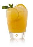 kall citronförnyelse för coctail Arkivfoto