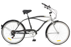 kall cykel Royaltyfria Foton