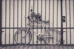 kall cykel Royaltyfri Fotografi