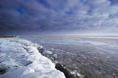 kall dagvinter Fotografering för Bildbyråer
