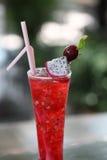 kall dricka fruktstansmaskin Fotografering för Bildbyråer