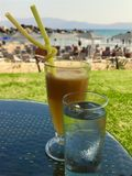 Kall drink på sommar Royaltyfri Foto