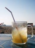 kall drinkis royaltyfria bilder