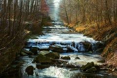 kall flod Arkivbilder