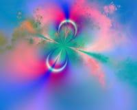 kall fractal Arkivbilder