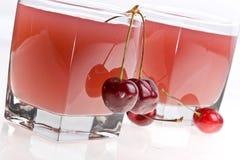 kall gelé för Cherry Arkivbild