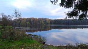 Kall himmel av hösten Fotografering för Bildbyråer
