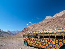 Kall Hippi-buss Arkivbilder