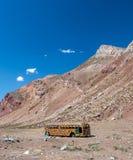 Kall Hippi-buss Royaltyfria Bilder