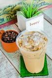 kall läcker drink för kaffe Arkivfoton