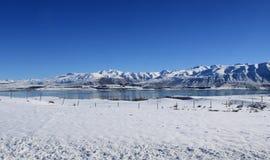 Kall Lake Arkivfoto