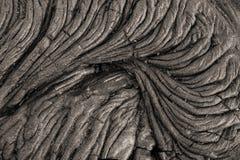 kall lava Royaltyfria Foton