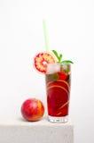Kall lemonad för frukt på en stentabell Fotografering för Bildbyråer
