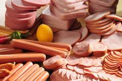 kall meat Royaltyfria Bilder