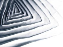 kall metallisk spiral textur royaltyfri fotografi